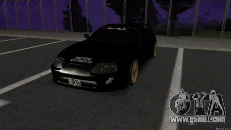Toyota Supra Mid Night for GTA San Andreas
