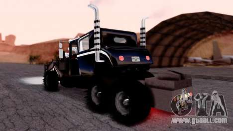 Mad Max The War Rig Bilge Tuning for GTA San Andreas left view