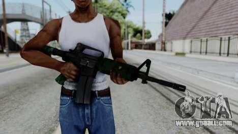 M16 A2 Carbine M727 v4 for GTA San Andreas third screenshot
