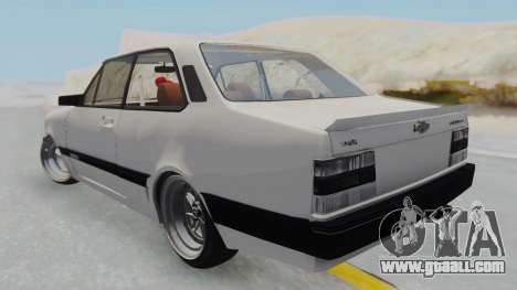 Chevrolet Chevette Stance for GTA San Andreas left view