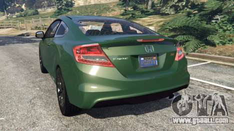GTA 5 Honda Civic SI v1.0 rear left side view