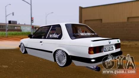BMW M3 E30 Special for GTA San Andreas back left view