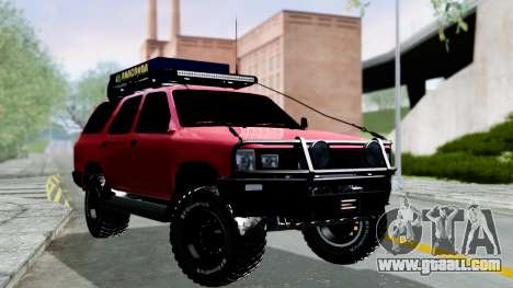 Toyota 4Runner 1995 Offroad for GTA San Andreas