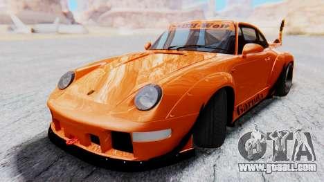 Porsche 993 GT2 RWB GARUDA for GTA San Andreas back left view