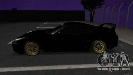 Toyota Supra Mid Night for GTA San Andreas left view