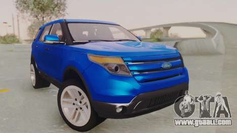 Ford Explorer for GTA San Andreas right view