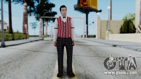 Be My Valentine DLC Male Skin for GTA San Andreas second screenshot