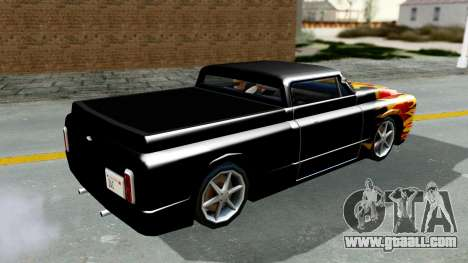 Blade New PJ for GTA San Andreas right view