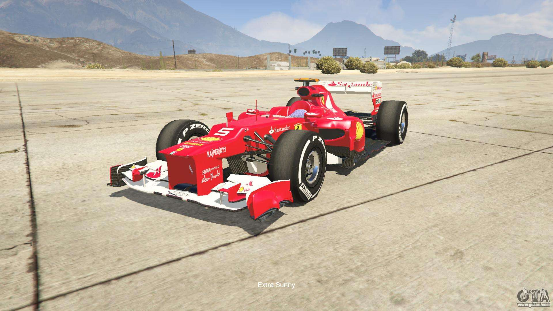 Ferrari F1 For Gta 5