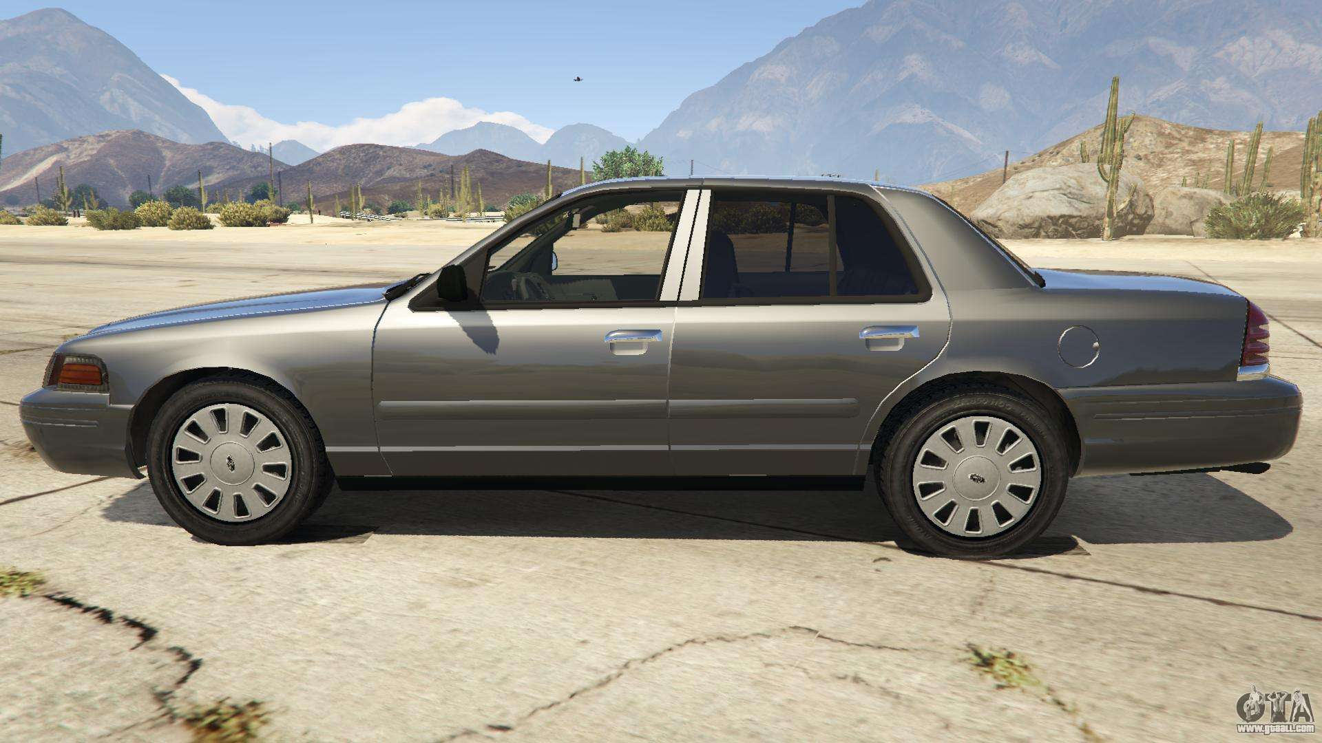 Ford Crown Victoria Detective for GTA 5 Gta 4 Pc Cars