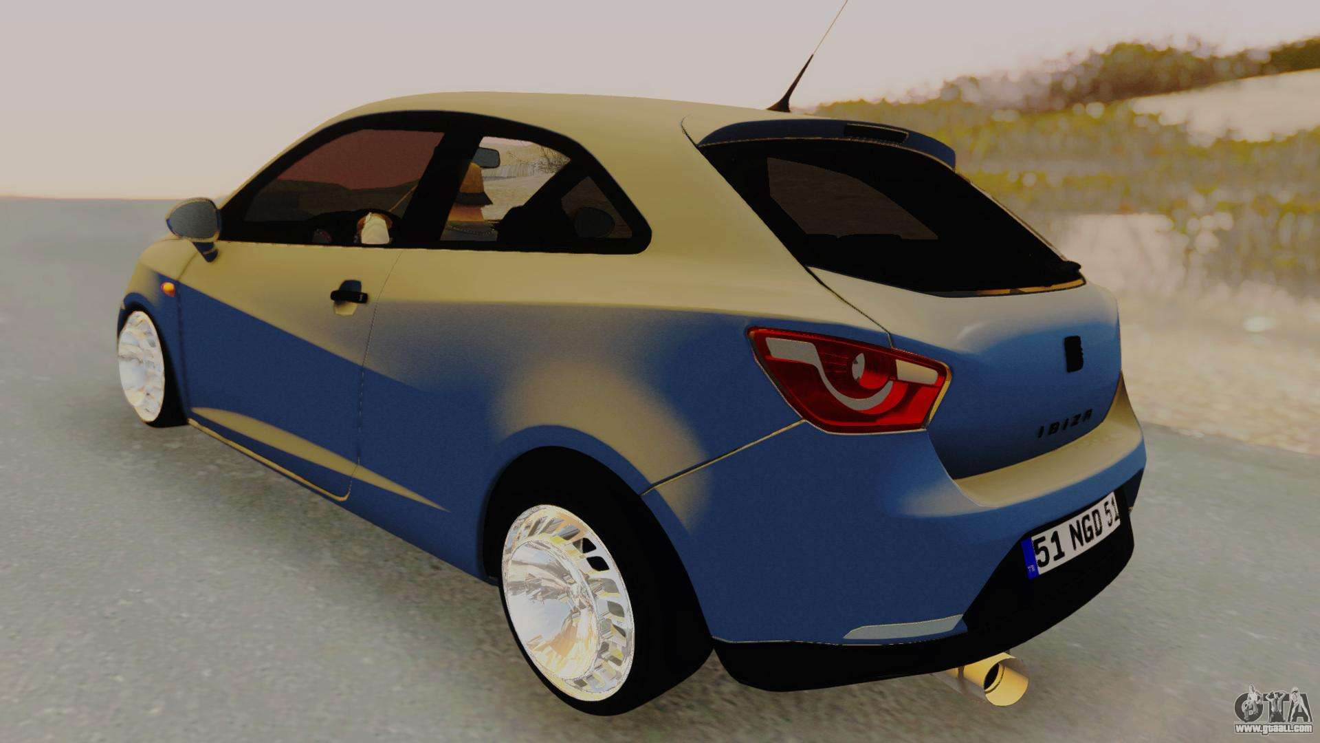 seat ibiza for gta san andreas. Black Bedroom Furniture Sets. Home Design Ideas