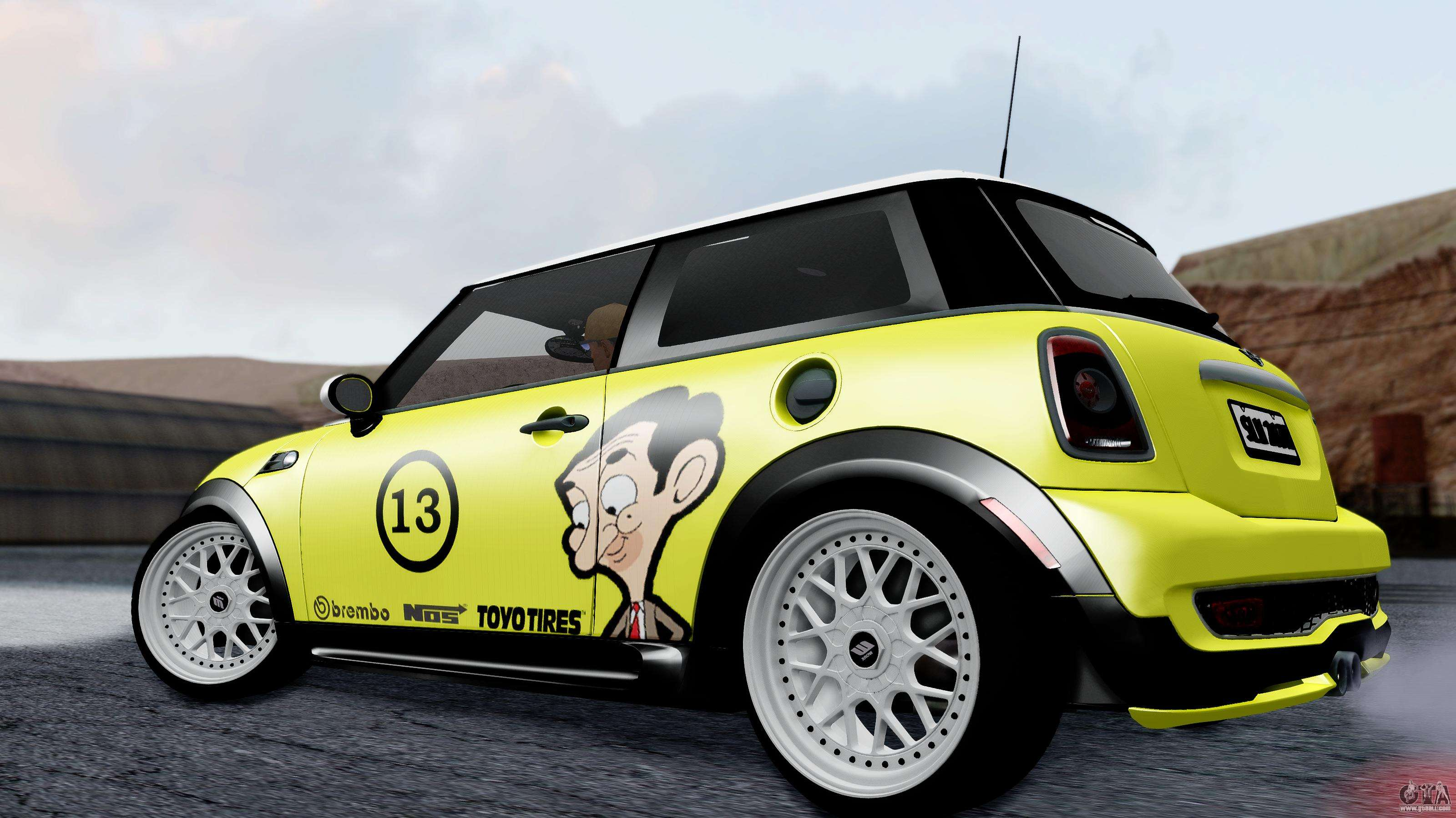 Mini John Cooper Works Mr Bean For Gta San Andreas