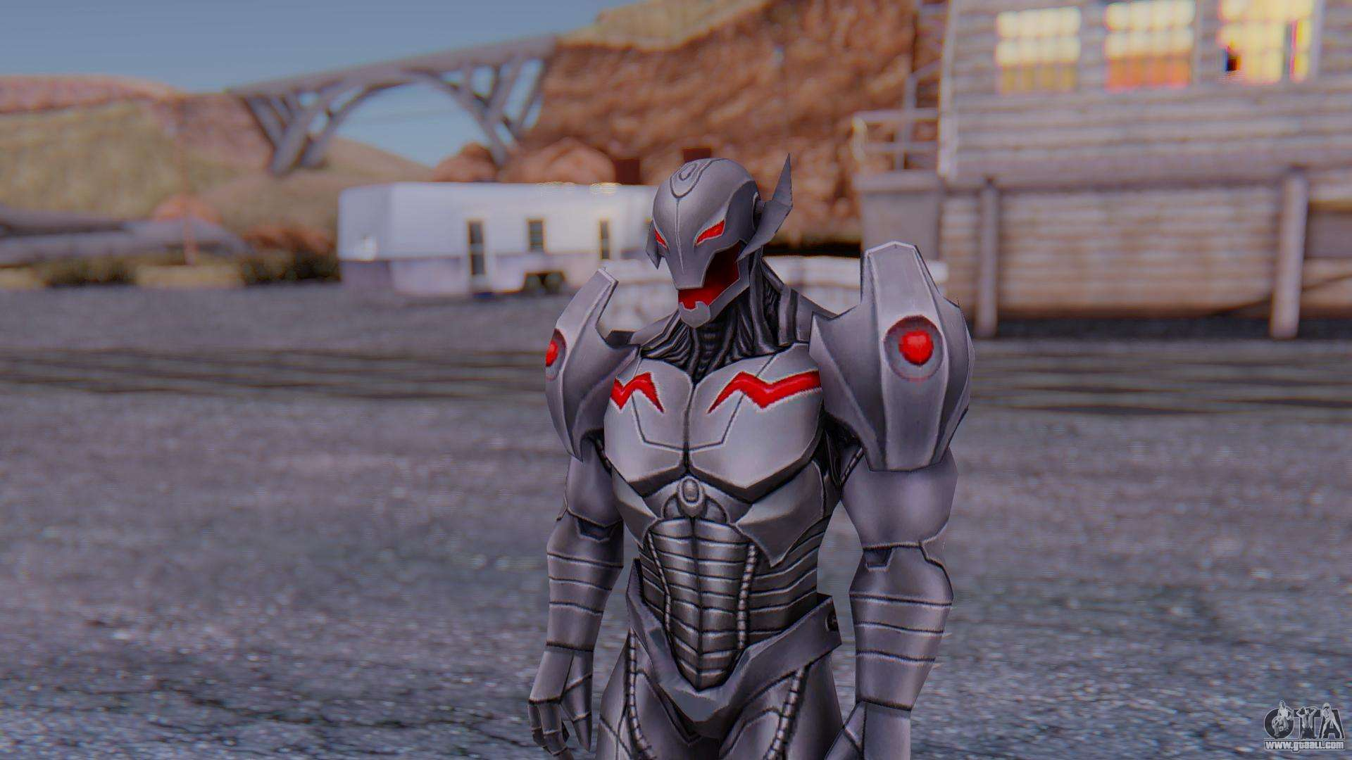Iron Man No Mask V1 (Marvel Ultimate Alliance 3) for GTA