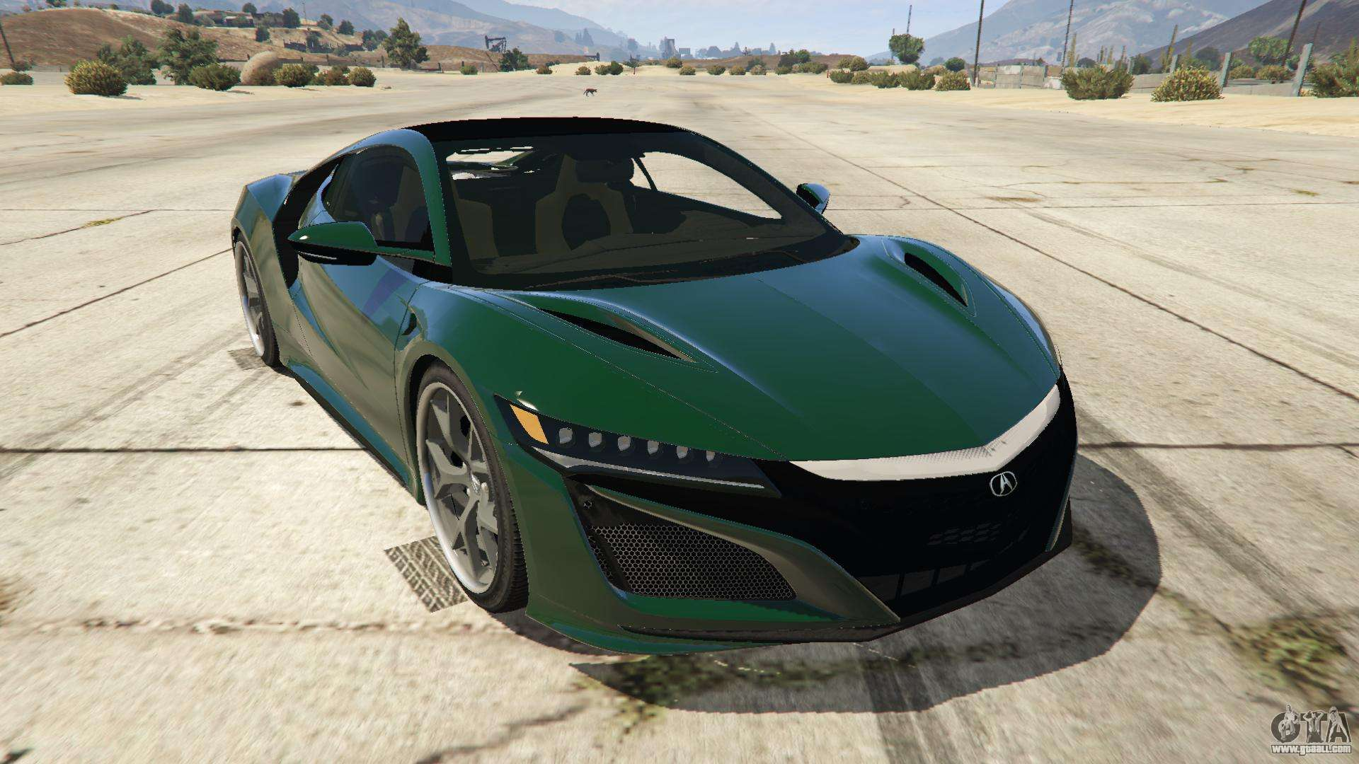 Acura NSX 2015 for GTA 5