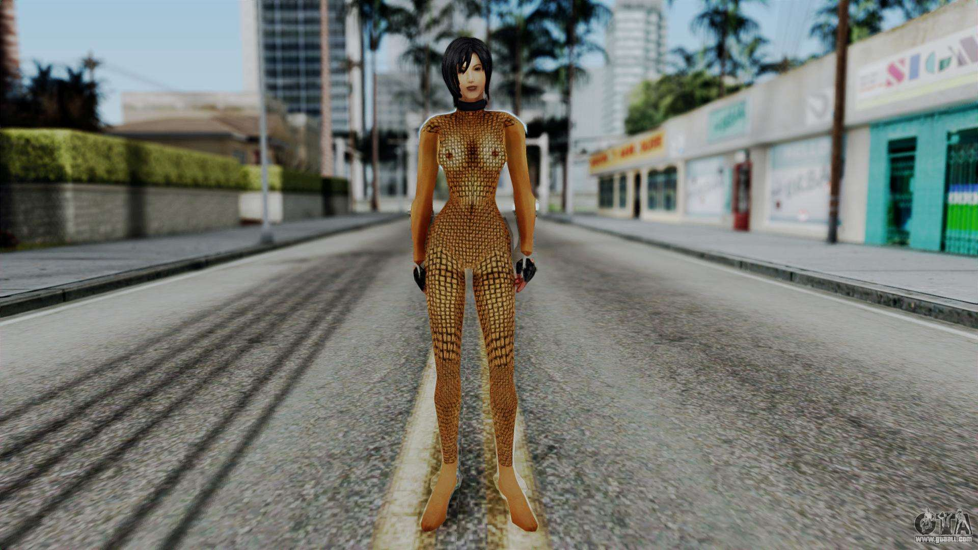 Ada Wong for GTA San Andreas