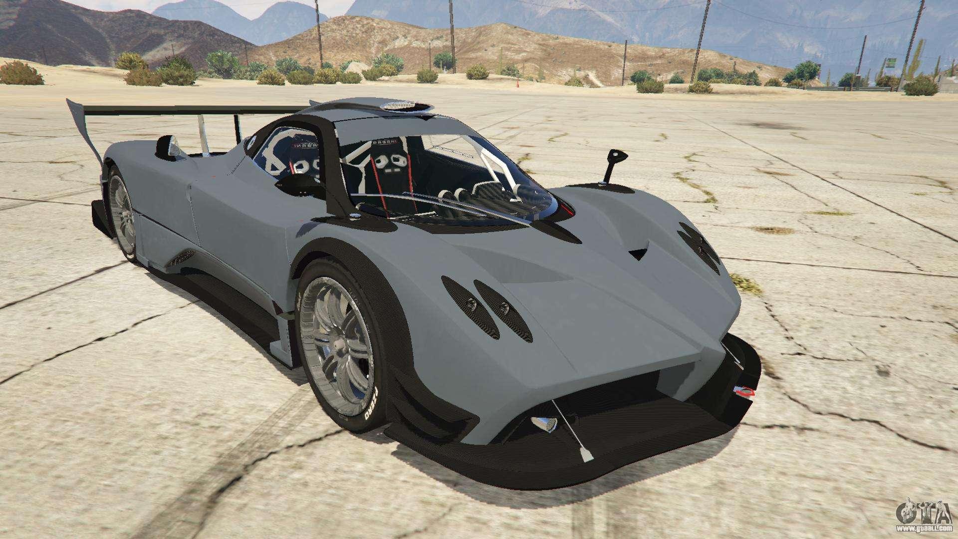 Pagani Zonda R v1.0 for GTA 5