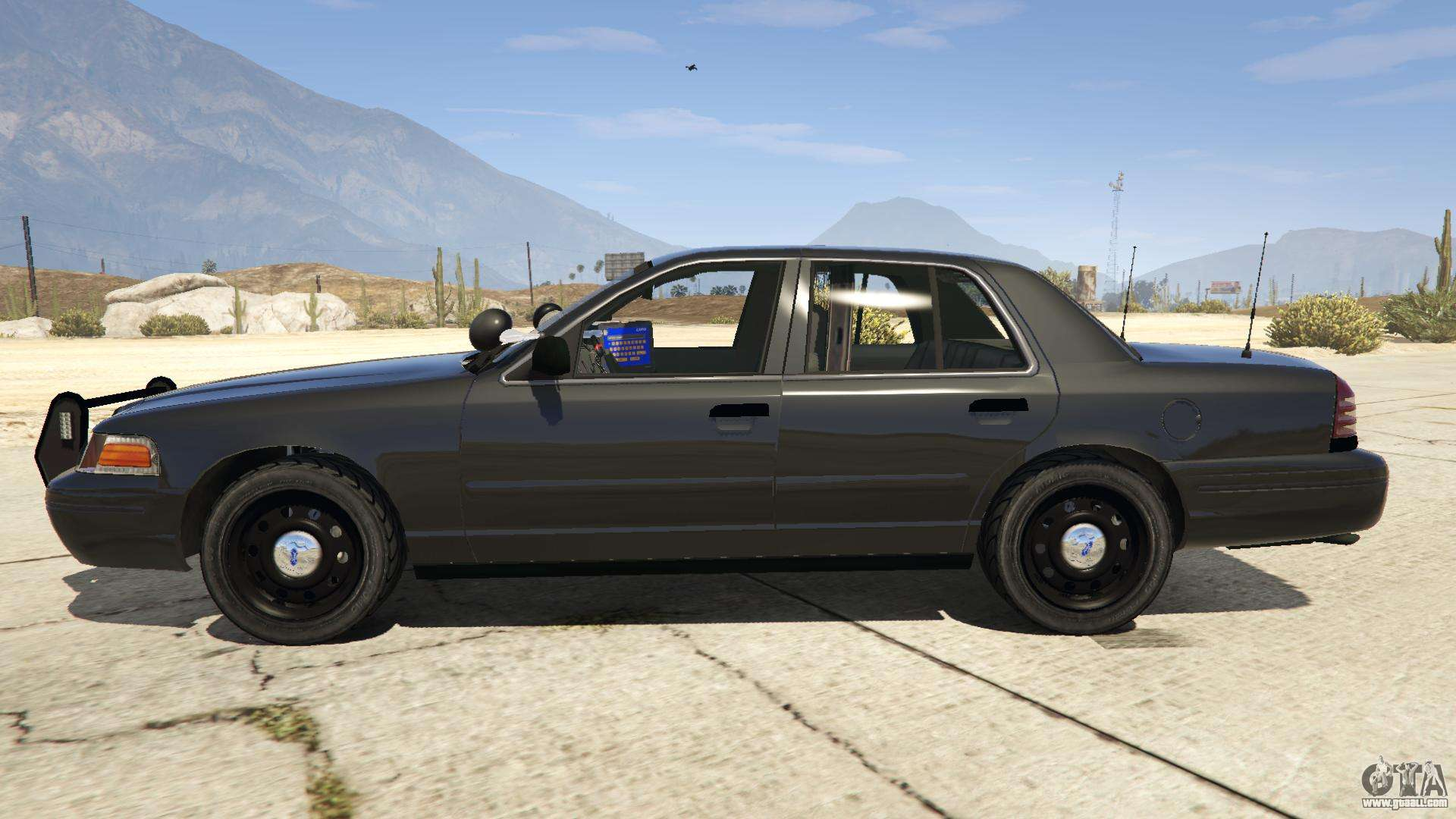 Ford Crown Victoria 2016 >> FBI Ford CVPI for GTA 5