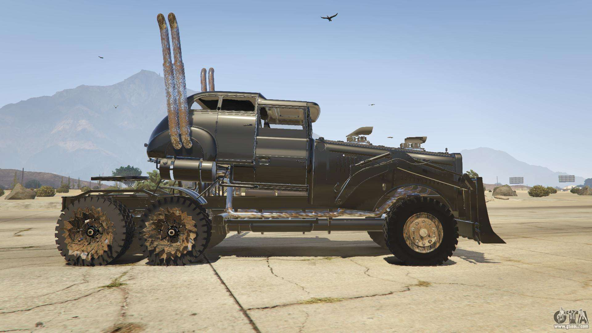 Mad Max The War Rig For Gta 5