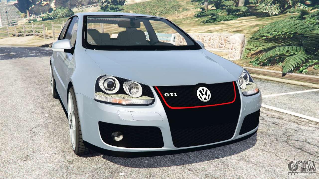 Volkswagen Golf Mk5 GTI 2006 v1.0 for GTA 5