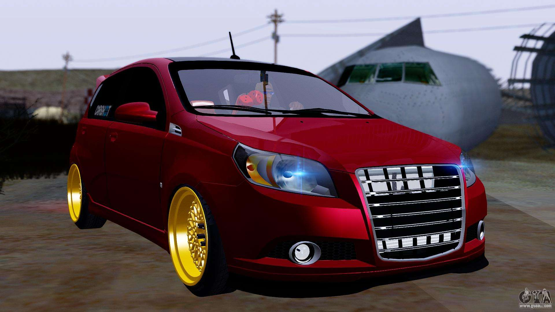 Chevrolet Aveo Stance For Gta San Andreas