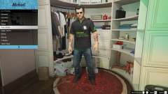 Nvidia Polo shirt for Michael for GTA 5