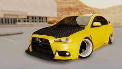 Mitsubishi Lancer Evolution X Stance for GTA San Andreas