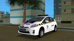 Toyota Prius Police Of Ukraine for GTA Vice City