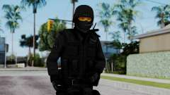 Black SWAT for GTA San Andreas