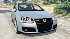 Volkswagen Golf Mk5 GTI 2006 v1.0 for GTA 5
