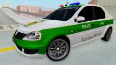 Dacia Logan Iranian Police Naja for GTA San Andreas