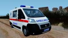 Fiat Ducato Serbian Ambulance for GTA San Andreas
