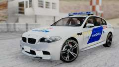 BMW M5 F10 Hungarian Police Car for GTA San Andreas