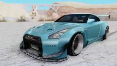 Nissan GT-R R35 Rocket Bunny v2 for GTA San Andreas