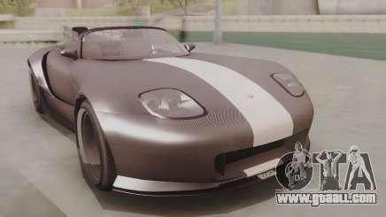 GTA 5 Bravado Banshee 900R Carbon for GTA San Andreas