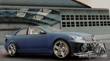 GTA 5 Benefactor Schafter V12 for GTA San Andreas