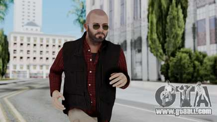 Hunter Costume Michael for GTA San Andreas