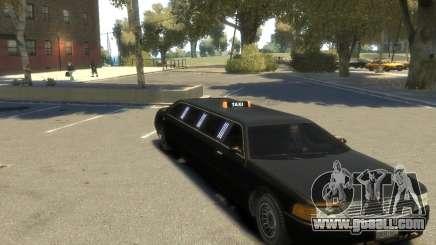 Taxi STRECH for GTA 4