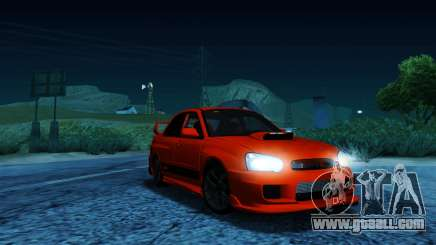 Subaru Impreza WRX STi LP 400 for GTA San Andreas