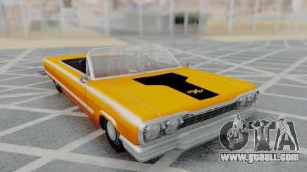 Savanna 2F2F Challenger PJ for GTA San Andreas