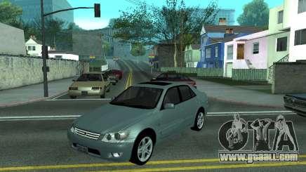 Toyota Altezza Tunable for GTA San Andreas