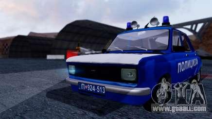 Zastava 101 Policija for GTA San Andreas