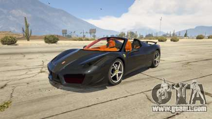 Ferrari 458 Mansory Siracusa Monaco Edition for GTA 5