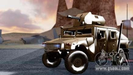 HUMVEE M1114 Desert for GTA San Andreas