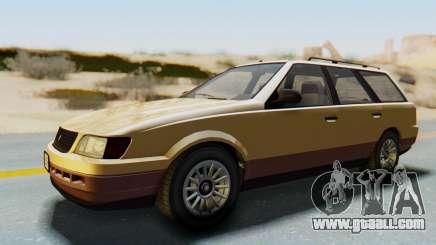 GTA 5 Vulcar Ingot for GTA San Andreas