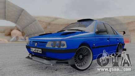 Peugeot 405 Full Tuning for GTA San Andreas