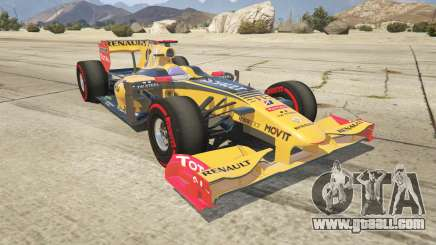 Renault F1 for GTA 5