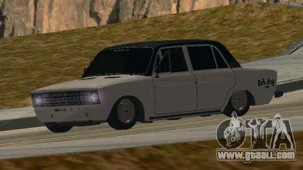 VAZ 2106 BUNKER for GTA San Andreas