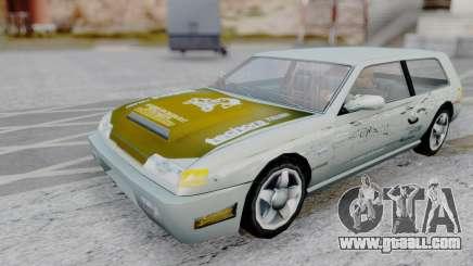 Flash F&F3 Silvia PJ for GTA San Andreas