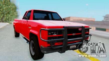 GTA 5 Vapid Bobcat XL for GTA San Andreas