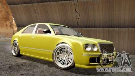 GTA 5 Enus Cognoscenti 55 IVF for GTA San Andreas